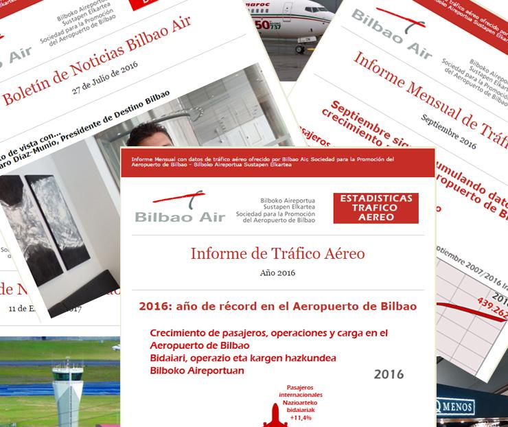 noticias del Aeropuerto de Bilbao