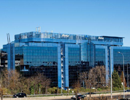 Oficinas de Aena en Madrid.