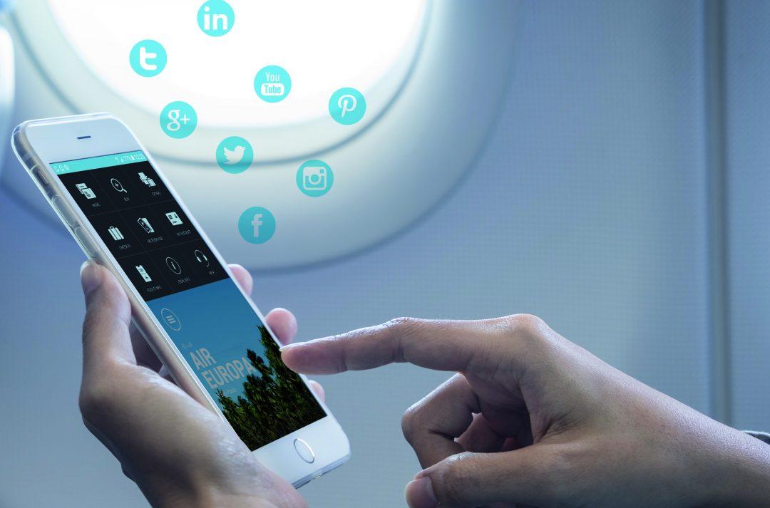 Air Europa culmina la instalación del servicio WiFi en su flota de largo radio