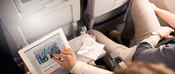 Internet de banda ancha a bordo en vuelos de Lufthansa