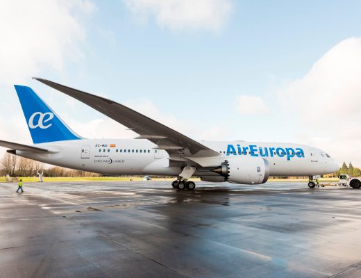 Air Europa cubre su ruta entre Madrid y Buenos Aires con la flota Dreamliner