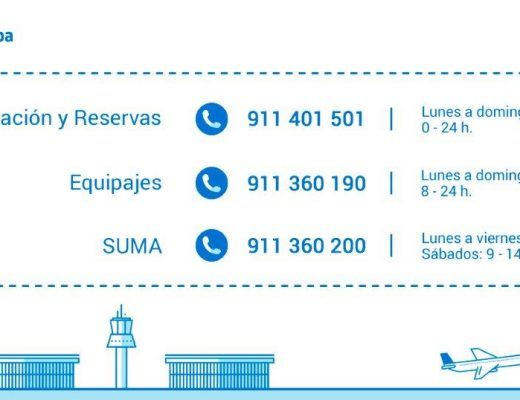 Air Europa suprime los teléfonos de tarificación especial