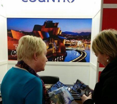 feria Holiday World de Dublín con la participación de Euskadi