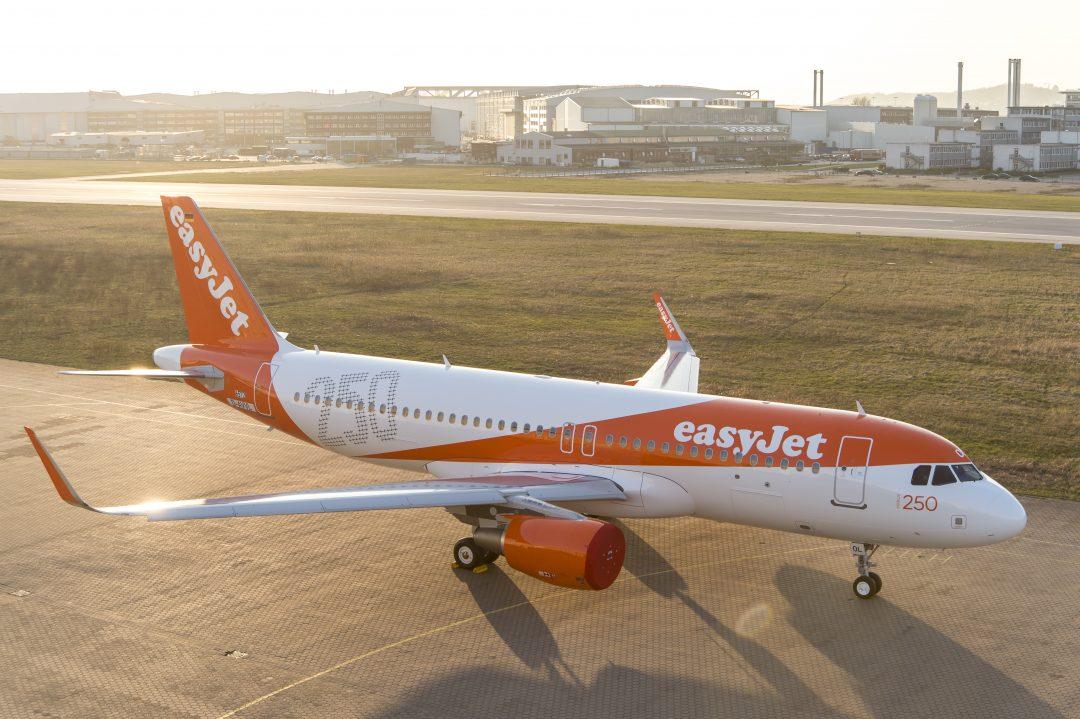 easyJet transportó en enero un 11% más de pasajeros