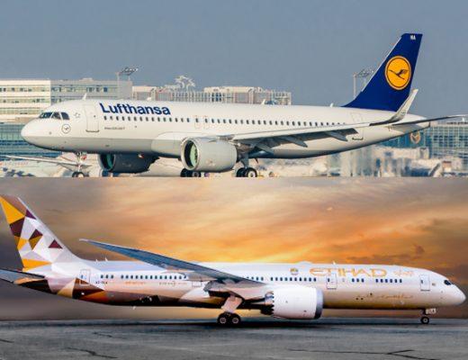 Lufthansa y Ethiad amplían su colaboración