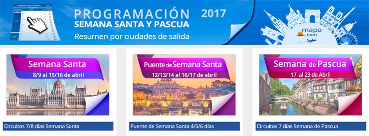 Vuelos especiales de Mapa Tours en Semana Santa desde Bilbao