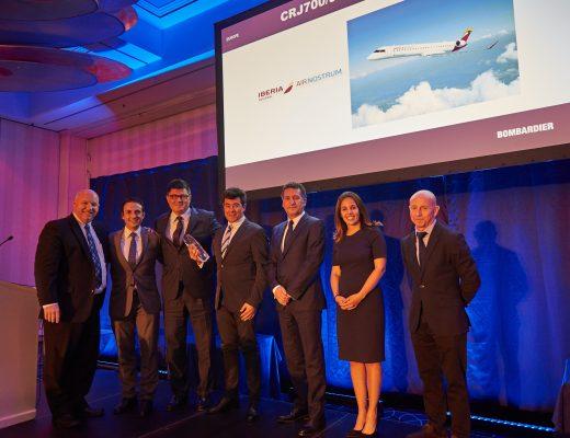 Air Nostrum, premio Bombardier al mantenimiento de aeronaves