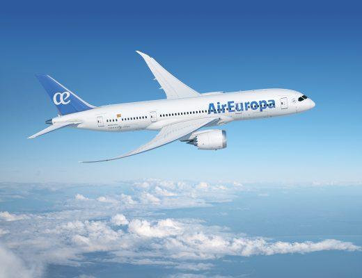 Air Europa suma el séptimo Boeing 787-8 a su flota de largo radio