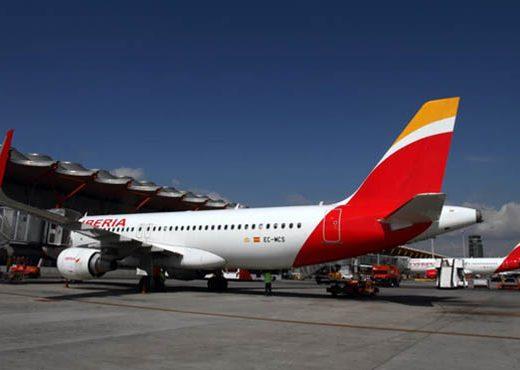 Iberia, aerolínea más puntual del mundo en abril