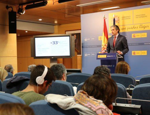 Fomento presenta el nuevo Plan de Navegación Aérea 2017-2020