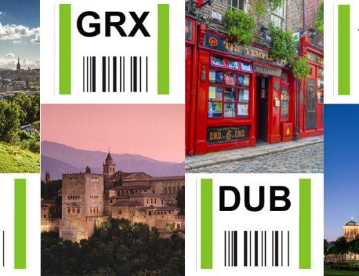 Granada, Edimburgo, Dublín y Stuttgart, principales novedades de la temporada de invierno en el Aeropuerto de Bilbao